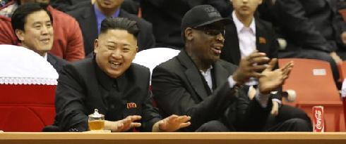 Dennis Rodman visits North Korea and Kim Jong-un