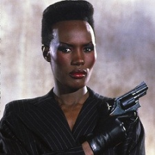 Grace Jones as May Day in A View to a Kill