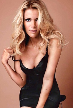 Fox News woman, Megyn Kelly in lingerie