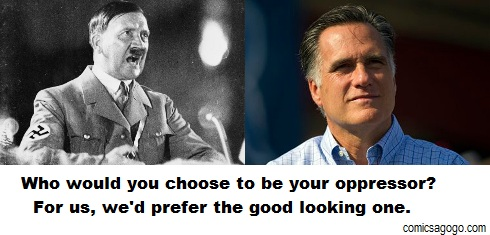 Mitt Romney is a good looking man