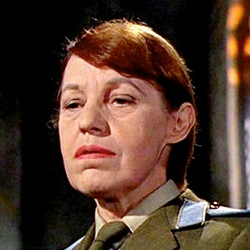 Lotte Lenya as Rosa Klebb in From Russia with Love