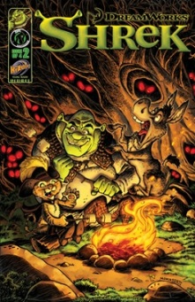 Shrek Comic Book