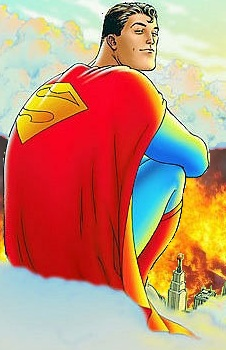 Superman is heartless.