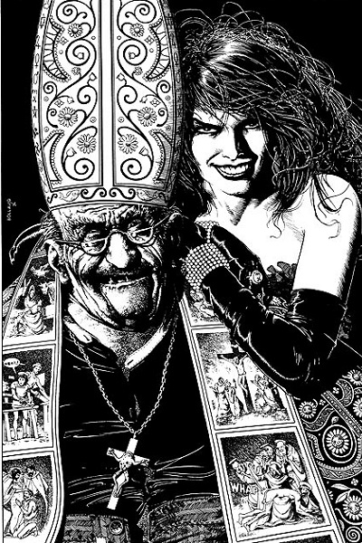 Brian Bolland's The Actress and the Archbishop