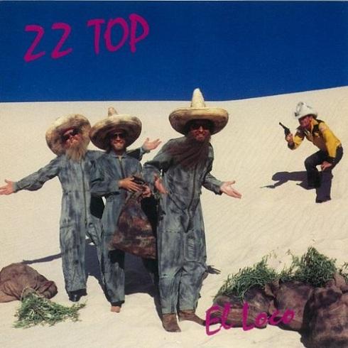 ZZ Top album cover for El Loco