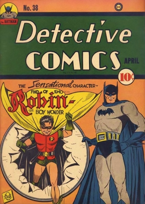 Dick Grayson, Robin, the Boy Wonder from Detective Comics 38