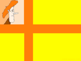Comics A-Go-Go! Barney Flag
