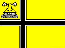 Comics A-Go-Go! Berserker flag