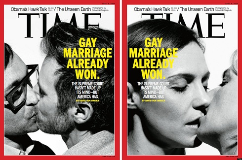 Time Magazine Gay Marriage Cover April 2013