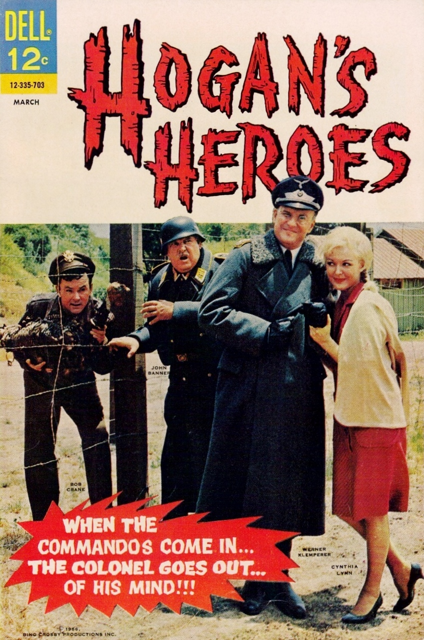 Hogan's Heroes Dell Comic Book Issue Number Four
