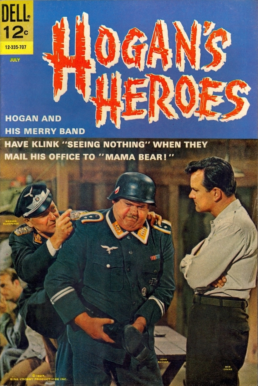 Hogan's Heroes Dell Comic Book Issue Number Seven
