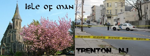 The Isle of Man compared to Trenton, New Jersey