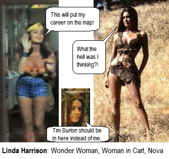 Linda Harrison, Wonder Woman and Nova