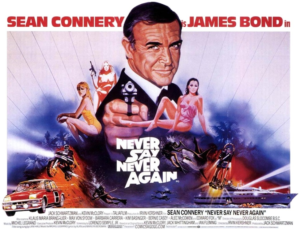 Never Say Never Again (1983) Movie Poster