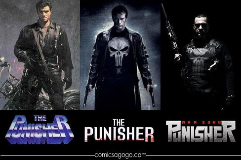 Punisher Movies: 1989, 2004, 2008