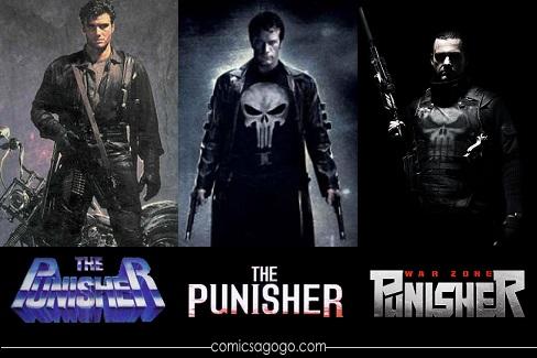 Punisher Movies: 1989, 2004, 2008