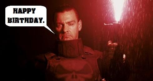 The Punisher Movie Flare Scene