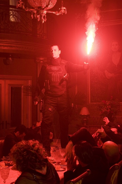 Punisher War Zone Movie (2008) - Flare Scene