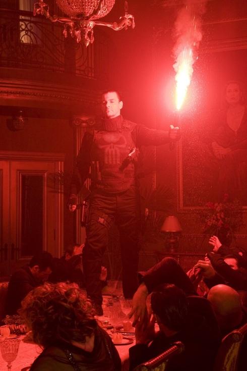 Punisher War Zone Movie (2008) - Flare Scene