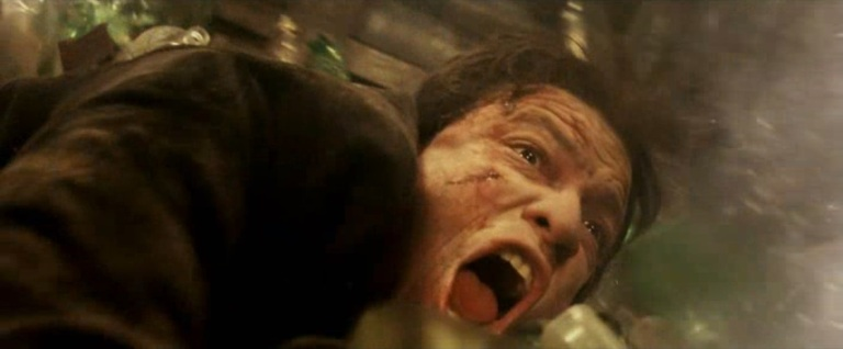 Punisher War Zone Movie (2008) - Billy the Beaut in the Glass Crusher Scene