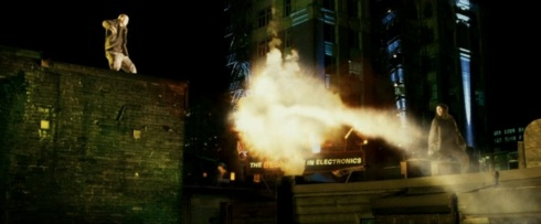 Punisher War Zone Movie (2008) - Parkour Explosion Scene
