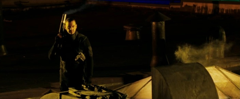 Punisher War Zone Movie (2008) - Parkour and Missile Scene