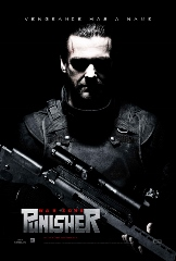 Punisher War Zone Movie Poster, staring at you