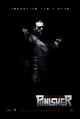 Punisher War Zone Movie Poster, aiming, full body