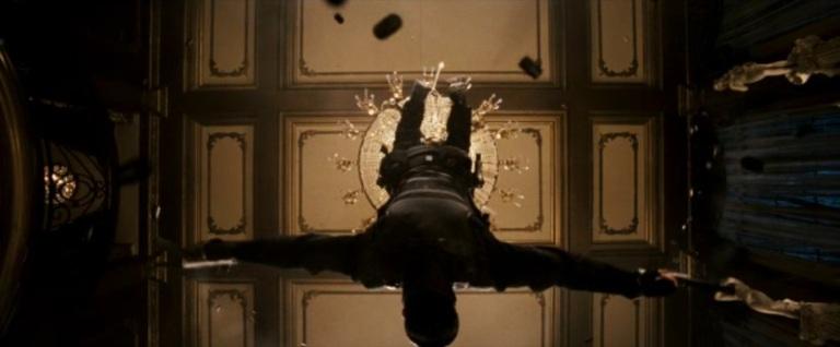 Punisher War Zone Movie (2008) - Chandelier Scene