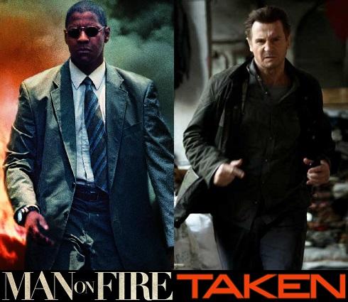 Revenge Movies: Taken & Man on Fire