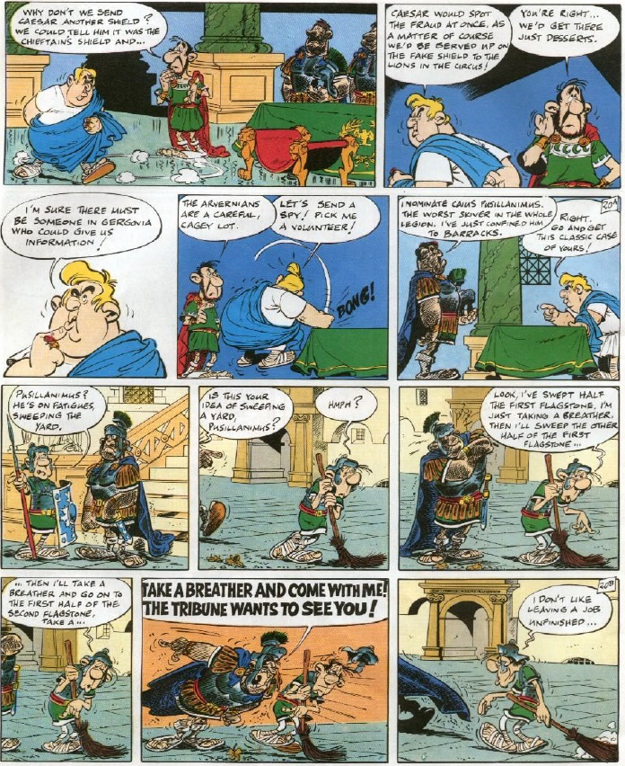 Asterix and the Chieftain's Shield - Pusillanimus