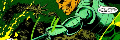 Axel Pressbutton, killer cyborg