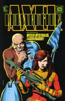 Eclipse Comics, Axel Pressbutton #1