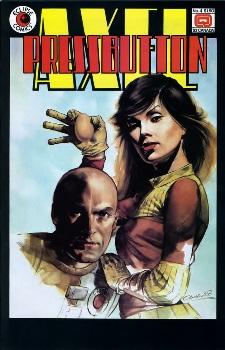 Eclipse Comics, Axel Pressbutton #4