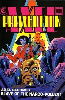 Eclipse Comics, Axel Pressbutton #5
