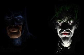 Batman and Joker by Sam Kieth