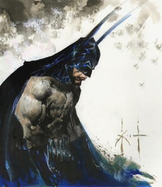 Sam Kieth, panting of The Batman