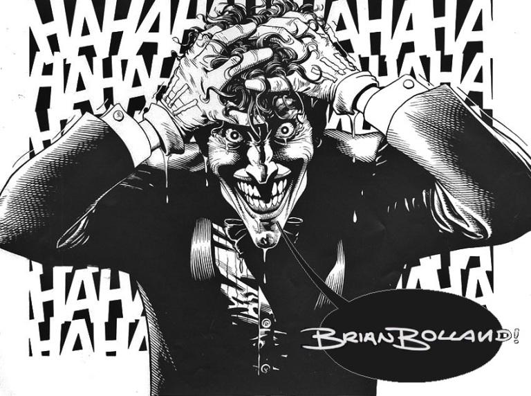 Brian Bolland's art from  Batman: The Killing Joke