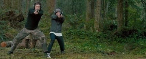 Training scene from Safety Not Guaranteed