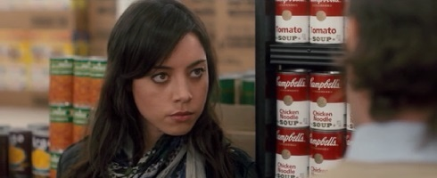 Grocery store scene from Safety Not Guaranteed