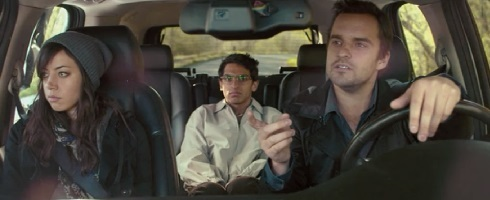 Darius, Jeff, and Arnau from Safety Not Guaranteed