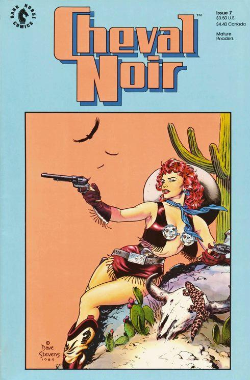 Dave Stevens Cheval Noir #7, nude art