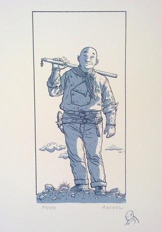 Geof Darrow Shaolin Cowboy Print