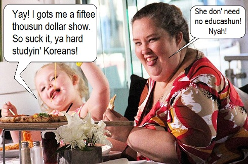 Honey Boo Boo and June Shannon