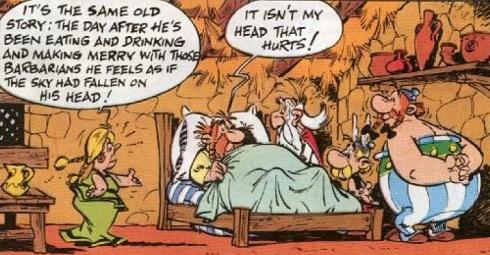 Asterix and the Chieftain's Shield - Impedimenta