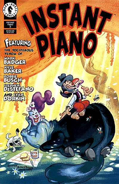 Dark Horse Comics - Instant Piano #3