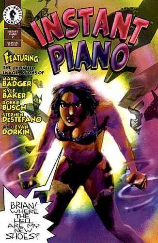 Dark Horse Comics - Instant Piano #2
