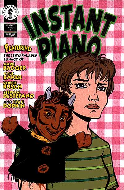 Dark Horse Comics - Instant Piano #4