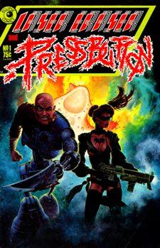 Eclipse Comics, Laser Eraser and Pressbutton #1