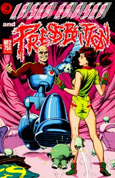 Eclipse Comics, Laser Eraser and Pressbutton #2